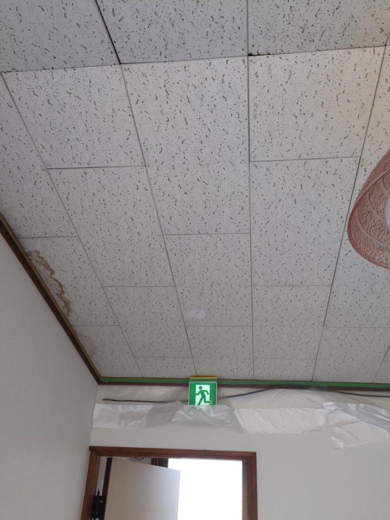天井塗り替え前